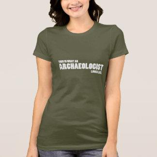 """""""Dit is wat een archeoloog als"""" t-shirt kijkt"""