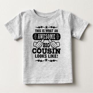 Dit is wat een Geweldige Grote Neef als kijkt Baby T Shirts