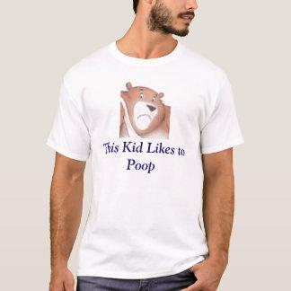 Dit kind houdt van aan achterschip t shirt