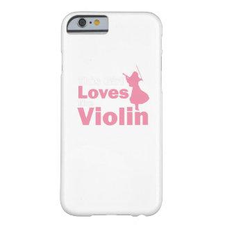Dit Meisje houdt van de Gift van de Viool Barely There iPhone 6 Hoesje