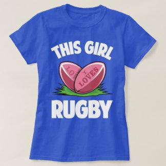 Dit Meisje houdt van de Sport Humor grappig T van T Shirt