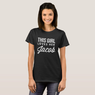 Dit meisje houdt van haar Jacob T Shirt