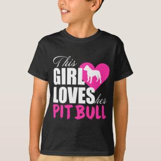 Dit Meisje houdt van Haar Pitbull T Shirt