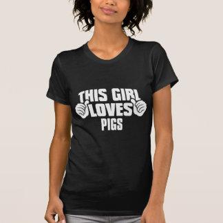 Dit Meisje houdt van het Overhemd van het T-shirt