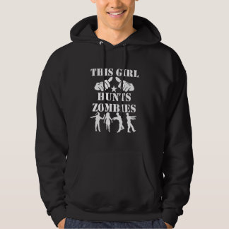 Dit Meisje jaagt Zombieën Hoodie