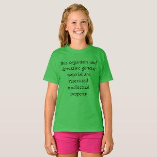 Dit organisme--intellectuele eigendom WeesZwarte T Shirt