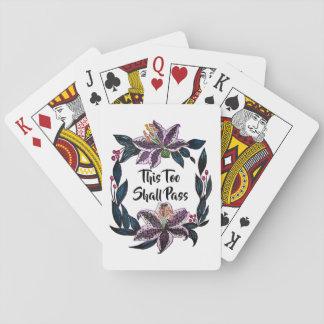 """""""Dit zal"""" ook de Kroon van de Lelie van de Pokerkaarten"""