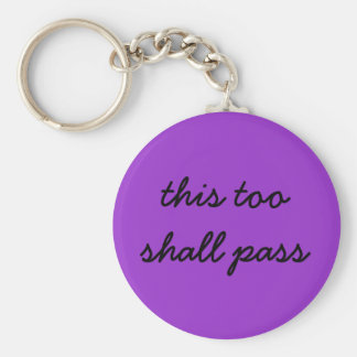 dit zal ook paarse keychain overgaan sleutelhanger