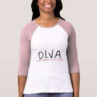 DIVA Gescheiden Vrouw T Shirt