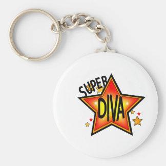 Diva Keychain van de ster Sleutelhanger