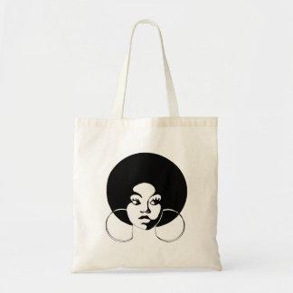 Diva van Afro het Bolsa van de Begroting Draagtas