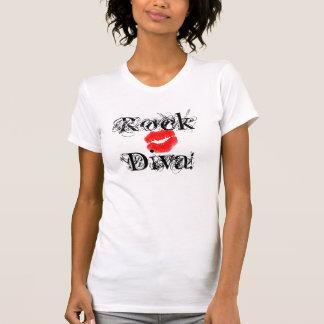 """""""Diva van de rots, Divas Rots I T-shirt"""" - T Shirt"""