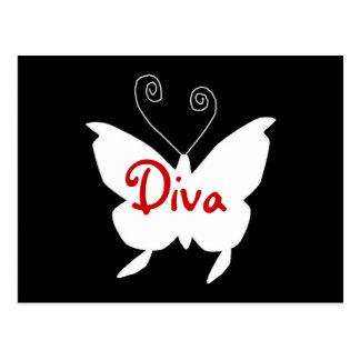Diva Vlinder I Wens Kaart