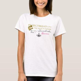 Divas van Socialista van het team Gang voor Honger T Shirt