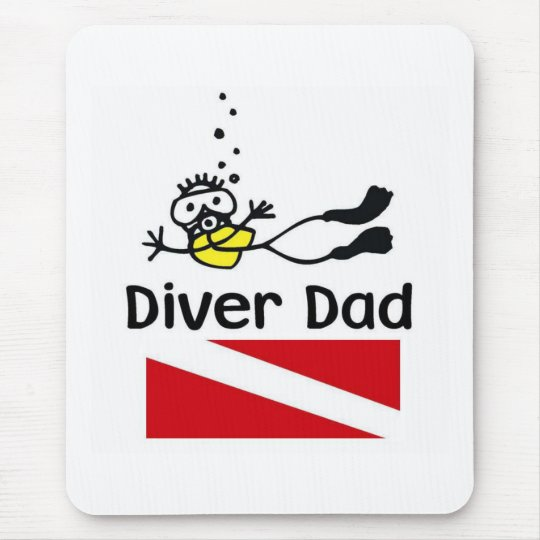 Diver Dad Muismatten