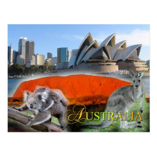 Divers Australië Briefkaart