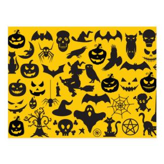 Divers Halloween Briefkaart