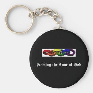 dividersgay, Zaaiend de Liefde van God Sleutelhanger