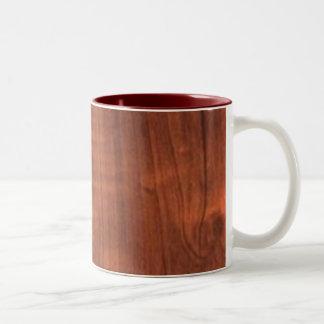 Diy de sjabloon voegt de veranderingskleur toe van tweekleurige koffiemok
