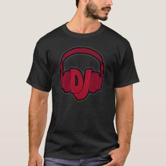 DJ die hoofdtelefoons dragen T Shirt