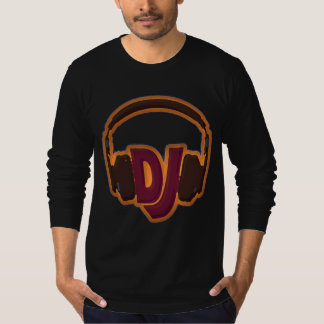 DJ draag hoofdtelefoons T Shirt