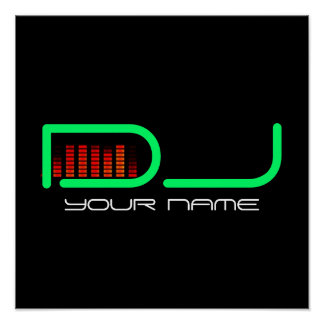 DJ- POSTER