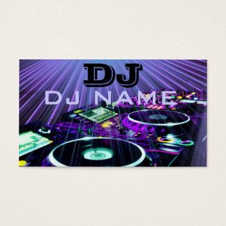 DJ- visitekaartje