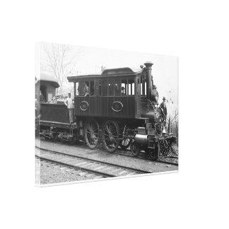DL+ W de Locomotief van de Inspectie van de Stoom Canvas Afdruk