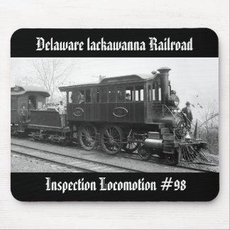 DL+ W de Locomotief van de Inspectie van de Stoom Muismat