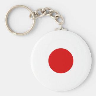 Dobbel 1 basic ronde button sleutelhanger