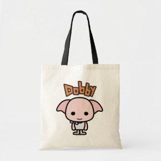 Dobby het Art. van het Karakter van de Cartoon Draagtas
