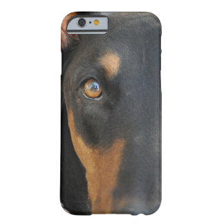 Doberman Barely There iPhone 6 Hoesje