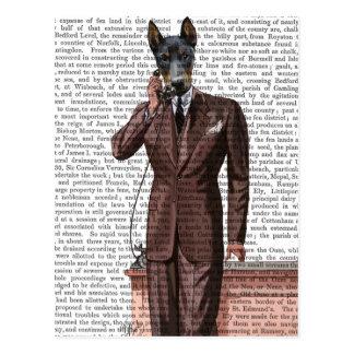 Doberman op Telefoon Briefkaart