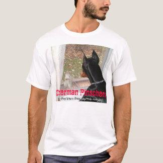 Doberman Pinschers die Huizen beschermen tegen T Shirt