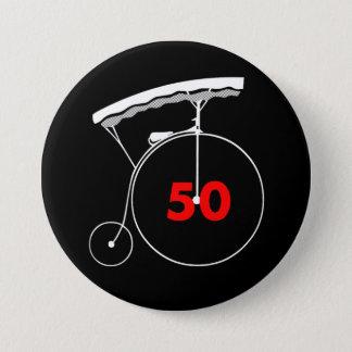 Dochter 50 van de horlogemaker ronde button 7,6 cm