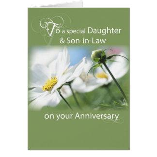 Dochter & Schoonzoon, de Witte Bloemen van het Briefkaarten 0