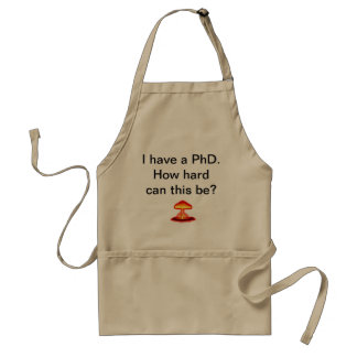Doctoraat in Keuken Standaard Schort