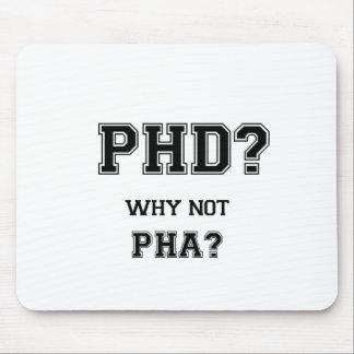 Doctoraat? Waarom niet PhA? De afstuderengift van Muismatten