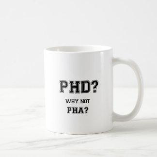 Doctoraat? Waarom niet PhA? De hoge Aziatische Koffiemok