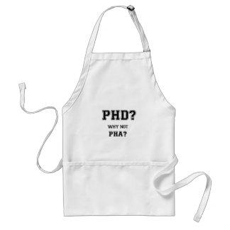 Doctoraat? Waarom niet PhA? De hoge Aziatische Standaard Schort