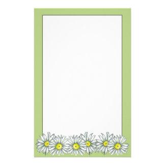 Document van de Correspondentie van Daisy Flower Briefpapier