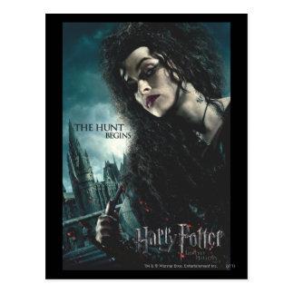 Dodelijk zegent - Bellatrix Lestrange 2 Briefkaart