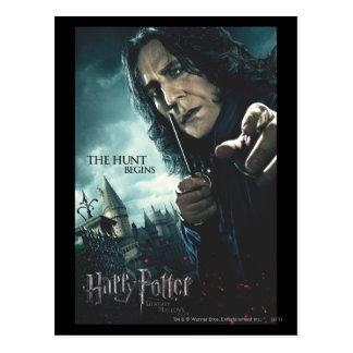 Dodelijk zegent - Snape 2 Briefkaart