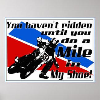 Doe een Mijl in MIJN schoen…. Poster