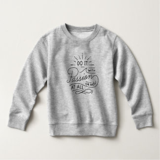 Doe het met Citaat   van de Hartstocht Sweatshirt