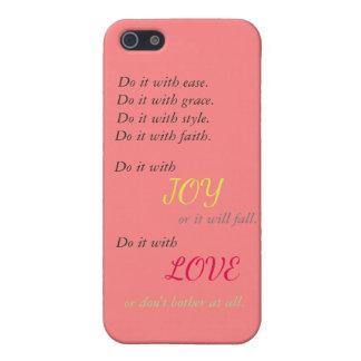 Doe het met de telefoonhoesje van de Liefde iPhone 5 Hoesje