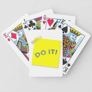 Doe het! pak kaarten