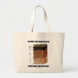Doe Welk Soil Scientists Do Spend More Vuil van de Grote Draagtas