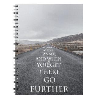 Doelstellingen en dromen motivatie citaten ringband notitieboek