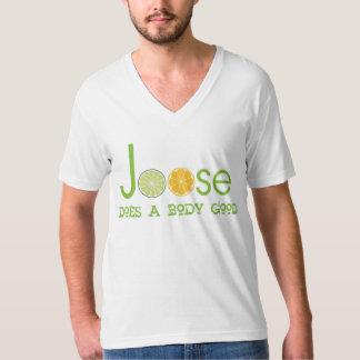 Doet de Mannen Bovenkant van Joose een Goede Drank T Shirt